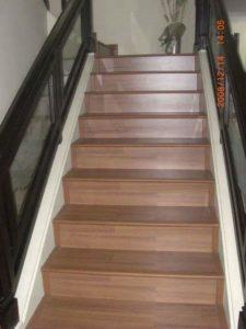 harga parket parquet lantai tangga
