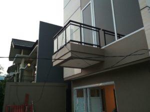 model railing tangga besi
